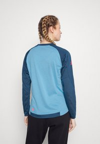 Zimtstern - PUREFLOWZ - Sports shirt - heritage blue/french navy - 2