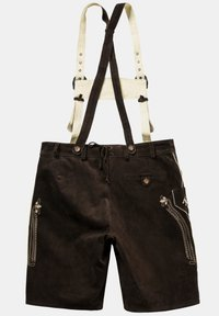 JP1880 - Leather trousers - braun - 3
