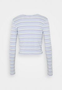 BDG Urban Outfitters - STRIPED CARDIGAN SET - Vest - blue - 1