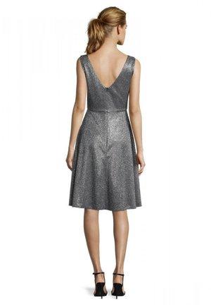 Cocktail dress / Party dress - metallic grey