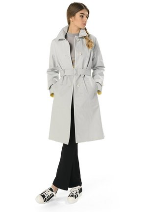 TERMOSALDATURE INTERNE - Trenchcoat - argento