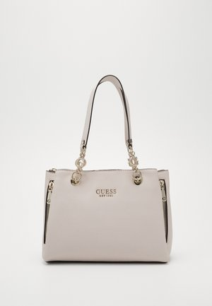 CHAIN GIRLFRIEND SATCHEL - Handbag - stone