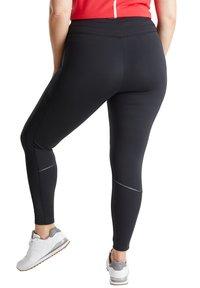 Esprit Sports - CURVY - Leggings - black - 2