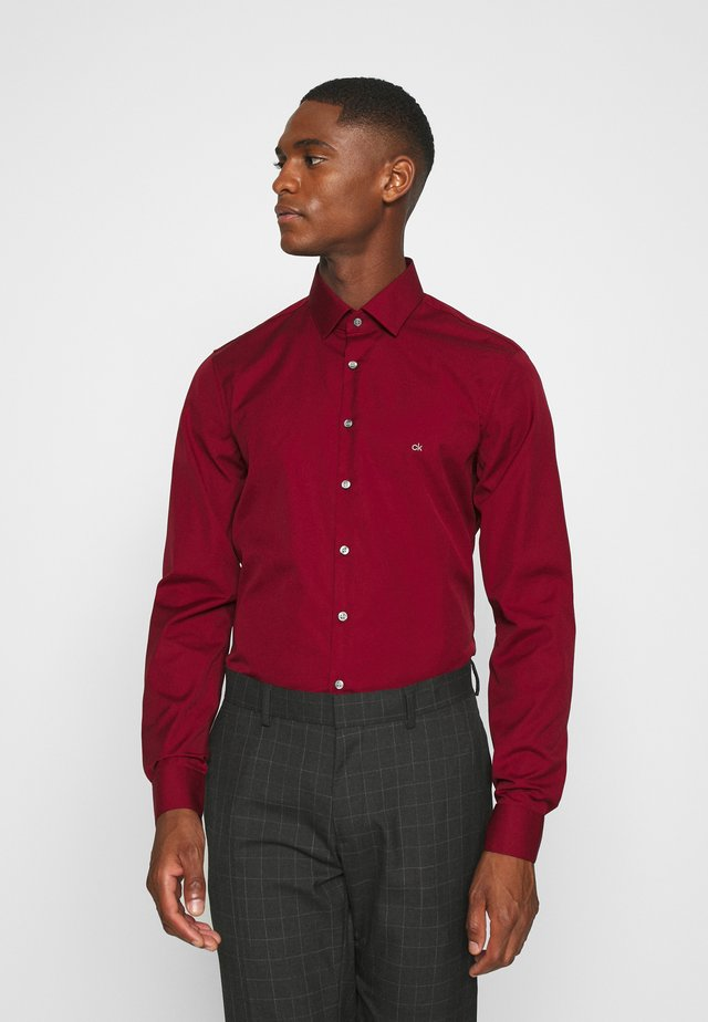 CONTRAST FLOWER PRINT SLIM - Formal shirt - red