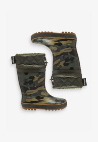 Next - CUFF WELLIES (OLDER BOYS) - Botas de agua - green - 1