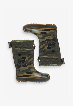 CUFF WELLIES (OLDER BOYS) - Holínky - green