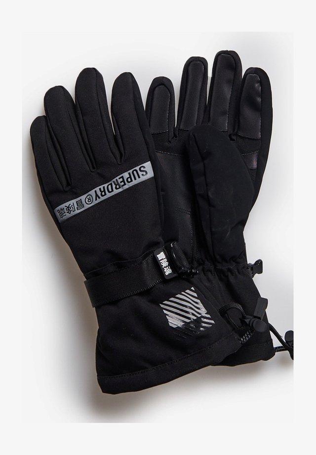 SNOW RESCUE - Fingervantar - black