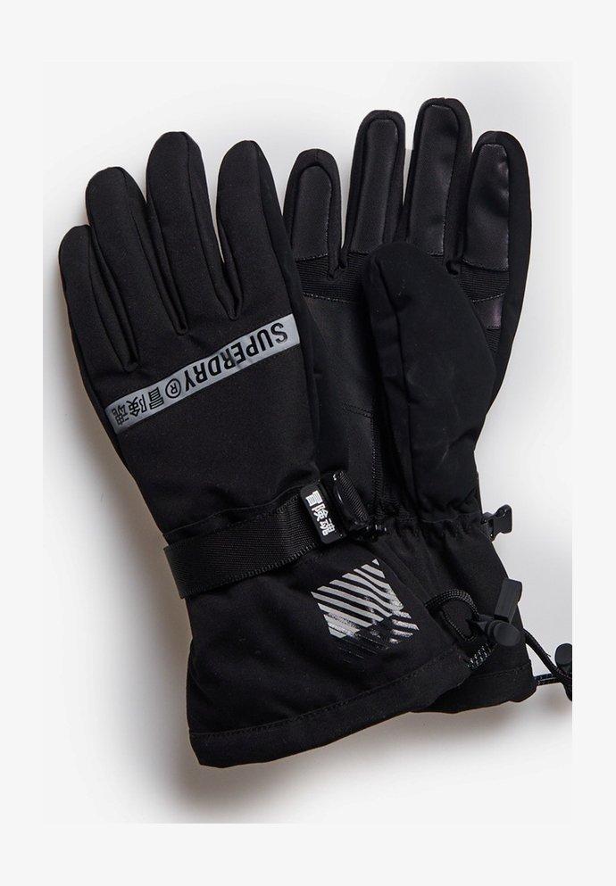 Superdry - SNOW RESCUE - Gloves - black