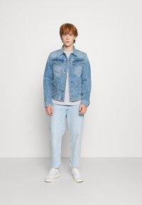 G-Star - 3301 SLIM - Denim jacket - denim/sun faded stone - 1