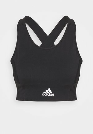 Sports bra - black/white