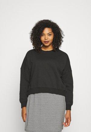 CURVE CLASSIC CREW NECK - Sweatshirts - washed black