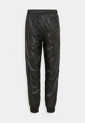 PUT ON TRACK PANTS - Trousers - black/army