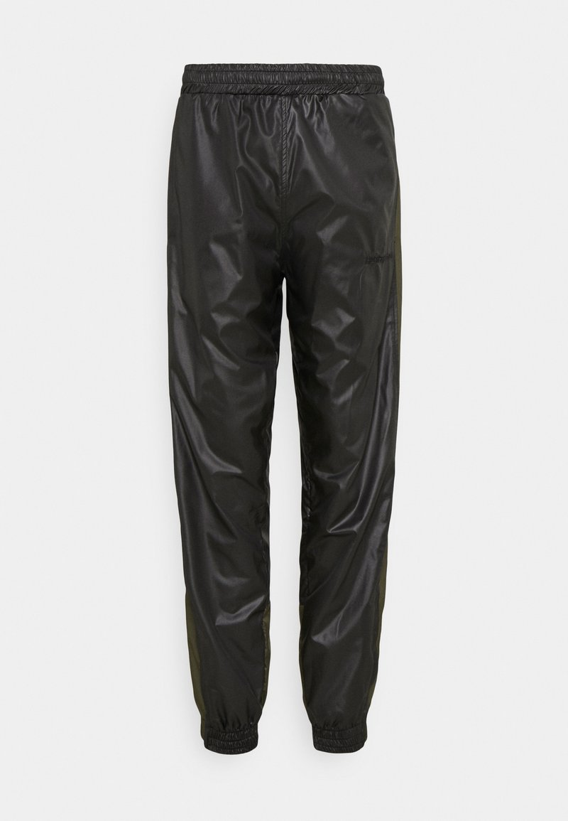 H2O Fagerholt - PUT ON TRACK PANTS - Kalhoty - black/army