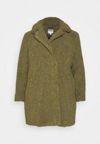 Noisy May Curve - NMGABI JACKET - Classic coat - kalamata - 5