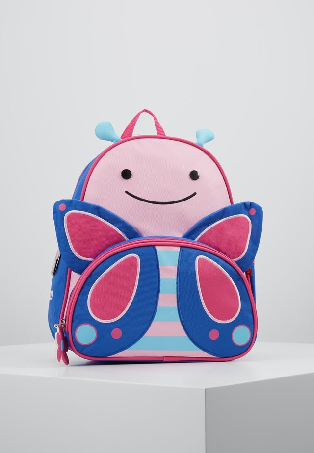 ZOO BACKPACK BUTTERFLY - Ryggsekk - pink