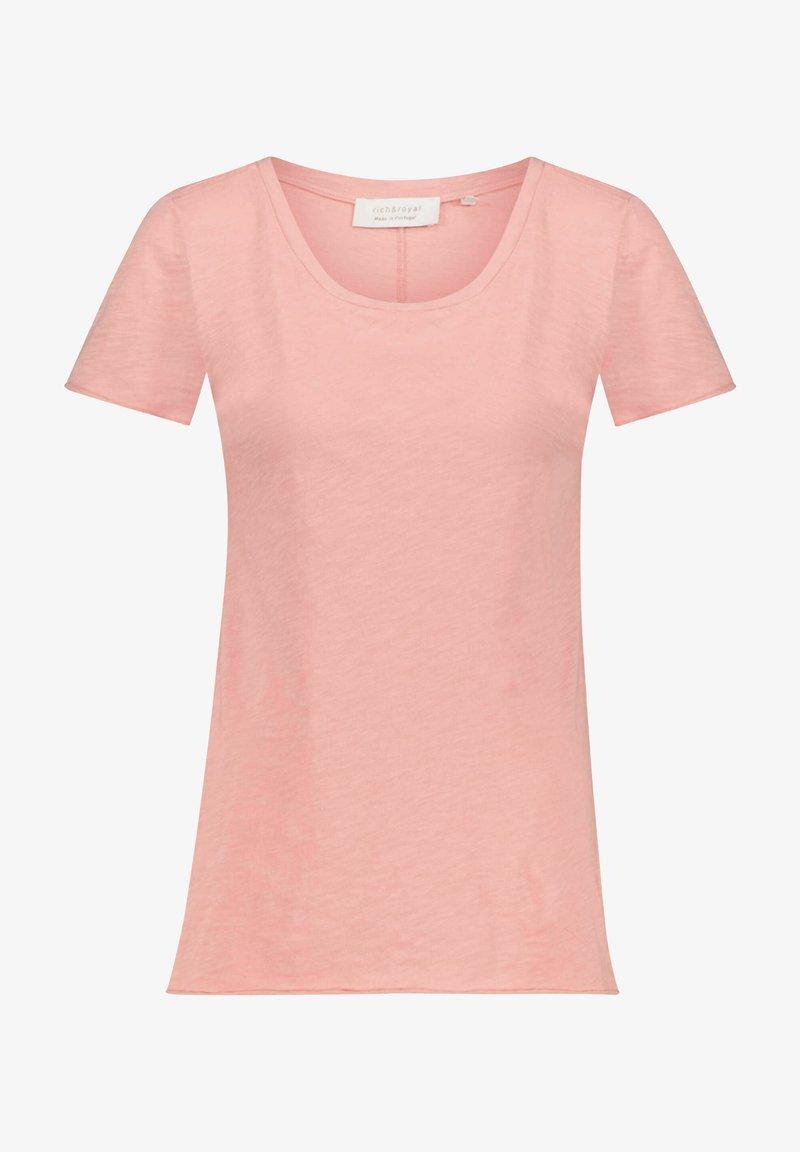 Rich & Royal - Basic T-shirt - rose