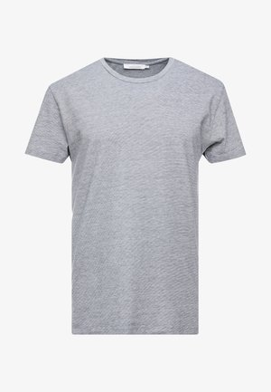 KRONOS STRIPE - Camiseta estampada - total eclipse