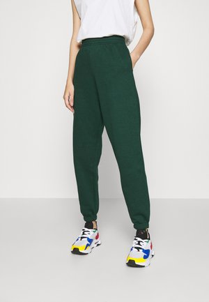 CUFFED JOGGER - Tracksuit bottoms - dark green