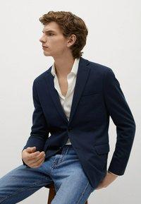 Mango - Blazer jacket - námořnická modrá - 3