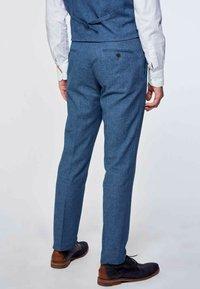 MDB IMPECCABLE - Suit trousers - blue - 4