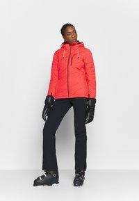 Killtec - SAVOGNIN QUILTED - Ski jacket - neon coral - 1