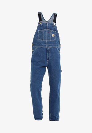 SIMPLE PANT NORCO - Džíny Straight Fit - blue stone washed
