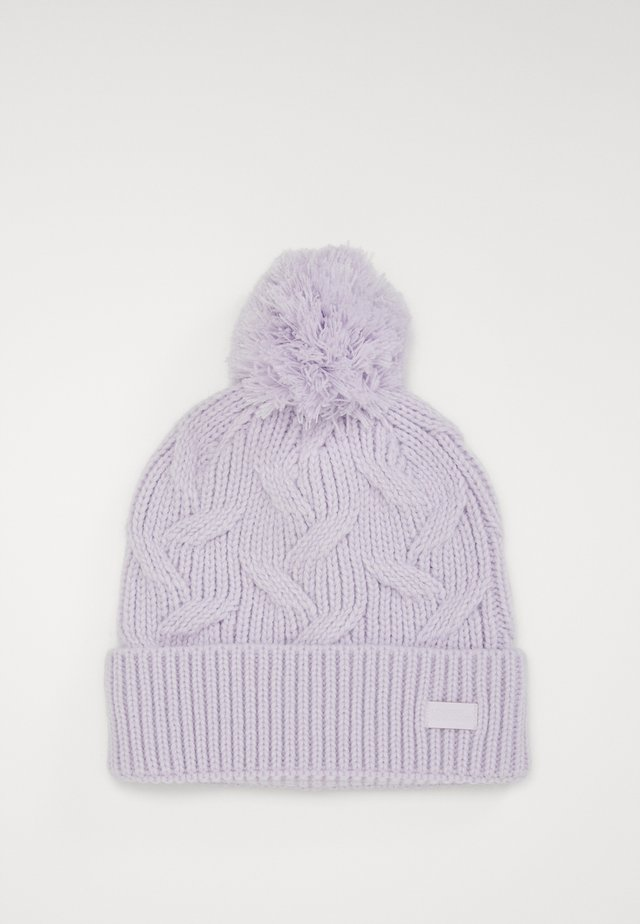 AROUND TOWN POM BEANIE - Čepice - crystal lilac