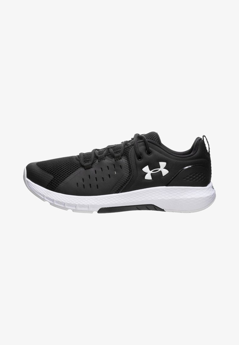 Under Armour - CHARGED COMMIT TR  - Sportovní boty - black/white