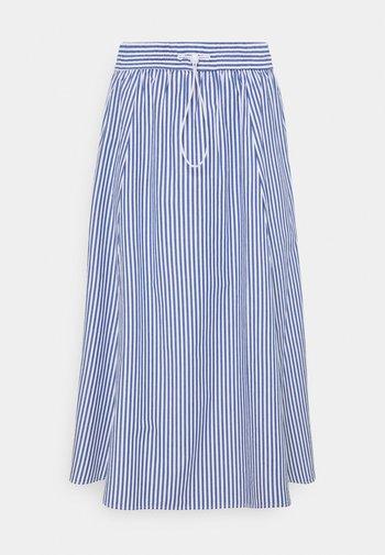 LUMI SKIRT - A-line skirt - blue/bright