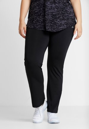 ONPNICOLE JAZZ TRAINING PANTS CURVY - Leggings - black