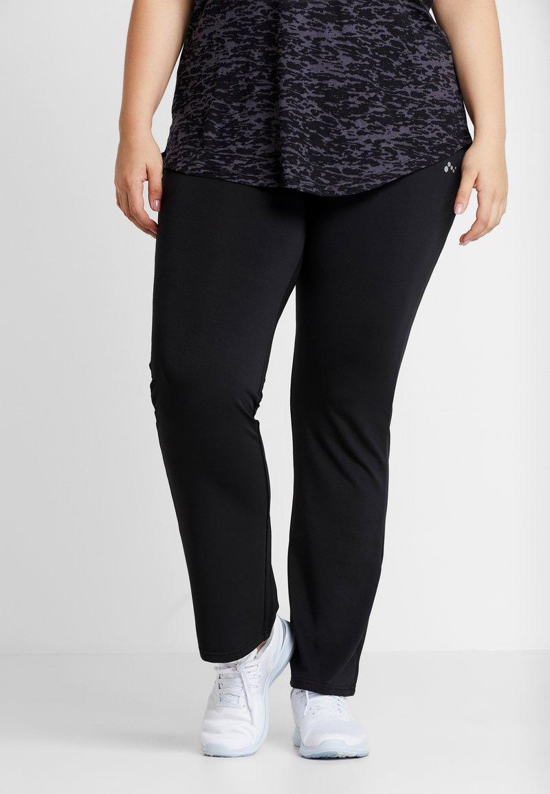 ONLY Play - ONPNICOLE JAZZ TRAINING PANTS CURVY - Leggings - black