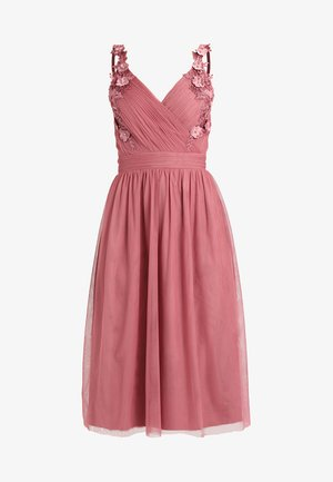 Cocktail dress / Party dress - rosette