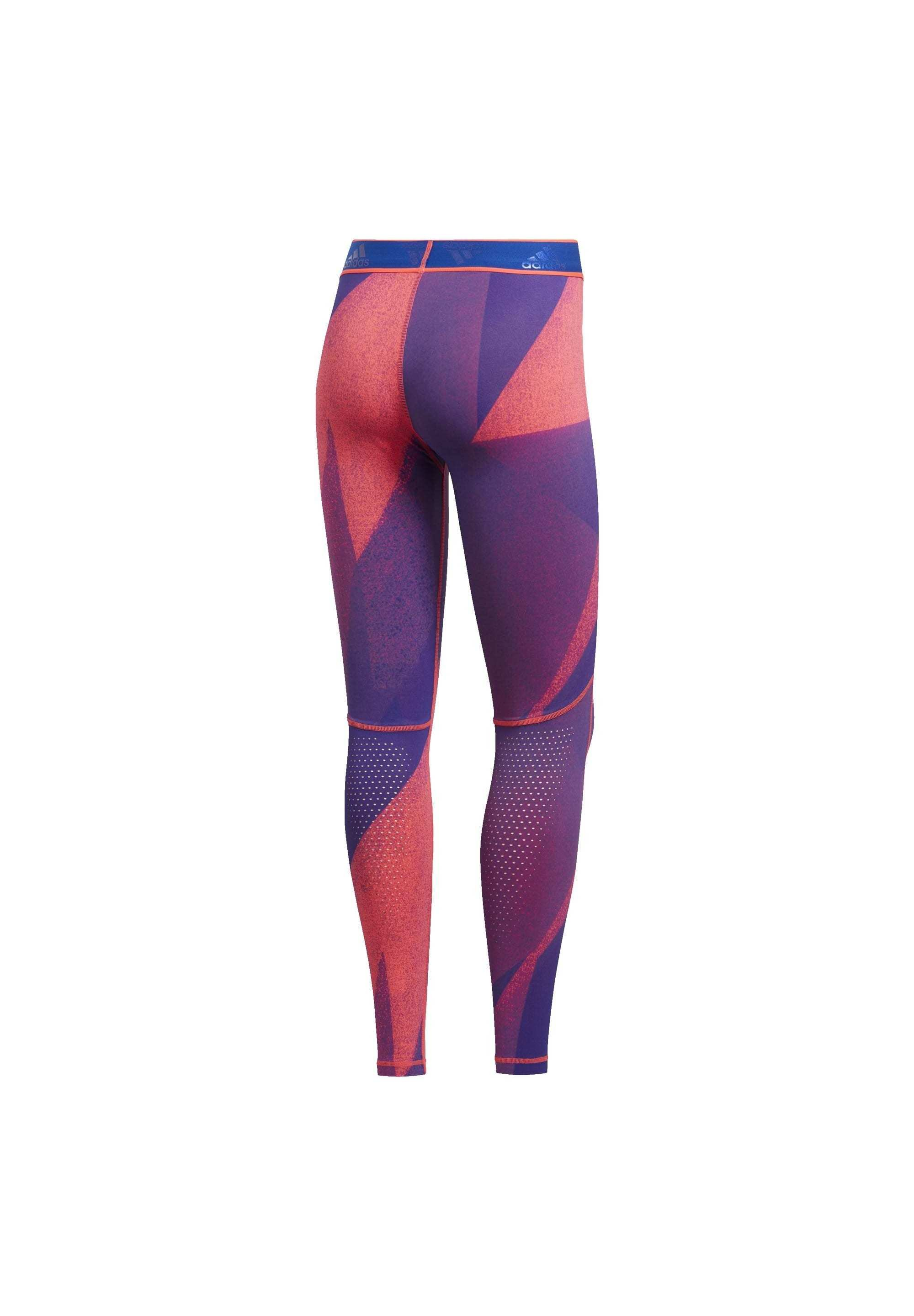 Outlet Women's Clothing adidas Performance ALPHASKIN GRAPHIC LONG LEGGINGS Leggings pink lKskv2DJH