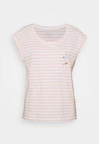 Esprit - TEE - Print T-shirt - nude - 4