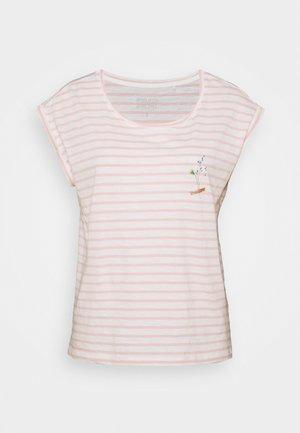 TEE - Print T-shirt - nude