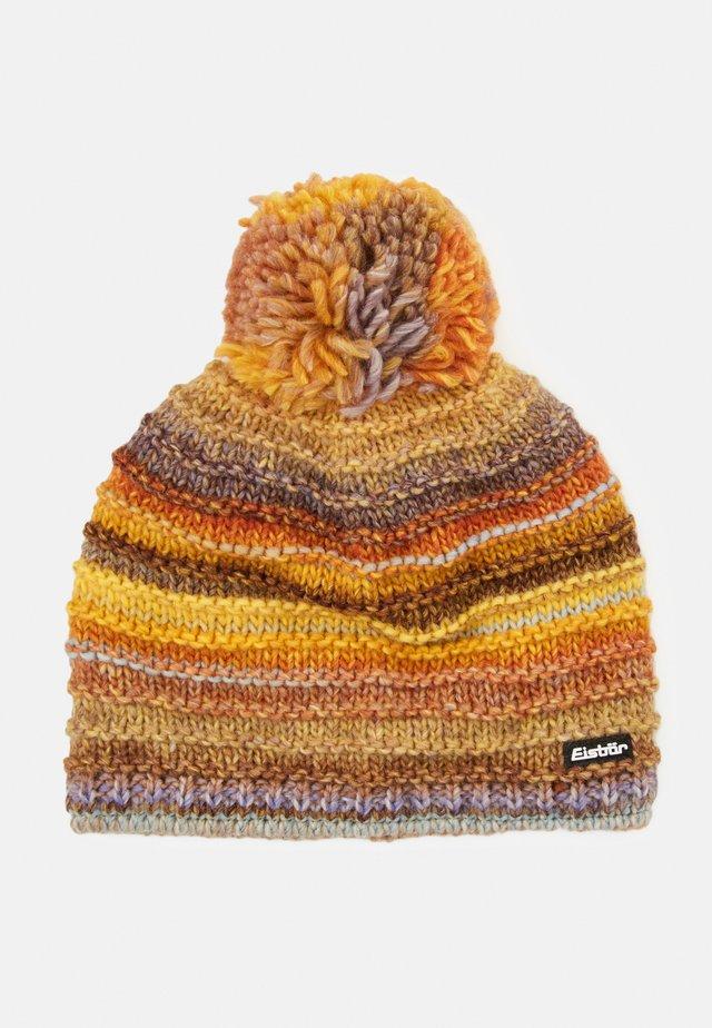 MIKATA - Mütze - gelbbraun