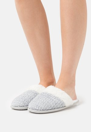 MULE  - Slippers - grey/silver metallic