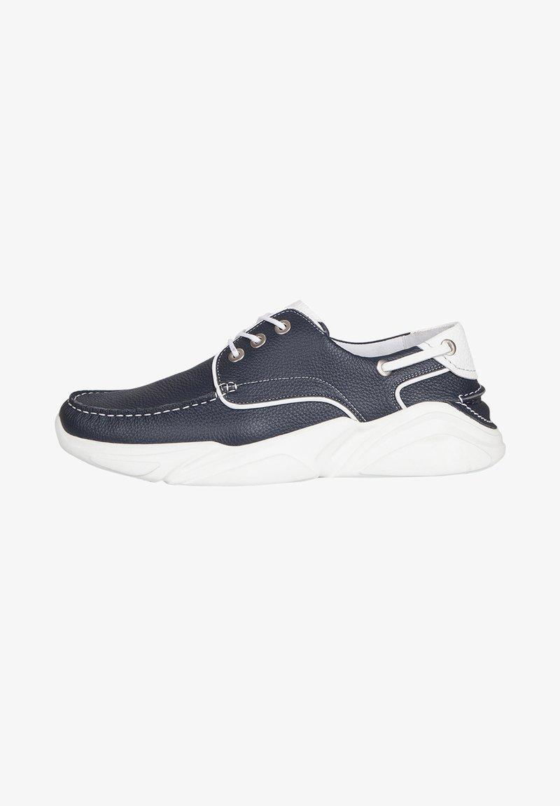 TJ Collection - Boat shoes - blue