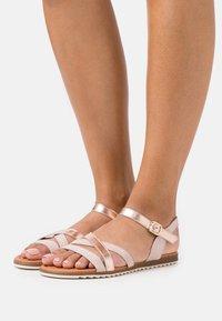 Apple of Eden - LAUREEN - Sandals - nude/rose - 0