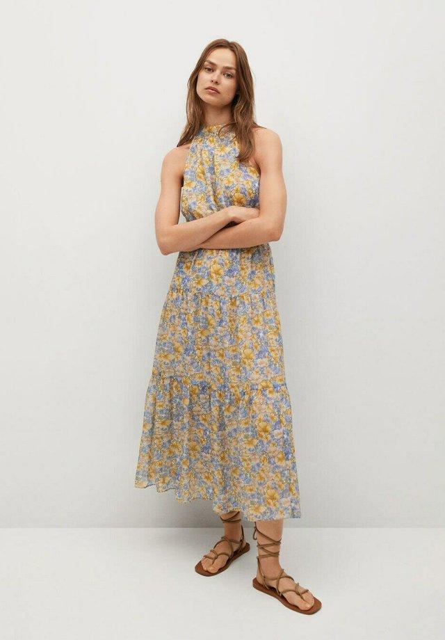 Day dress - niebieski