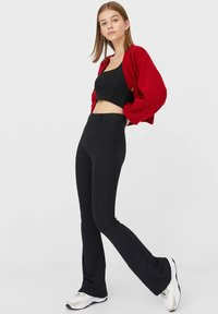 Stradivarius - Cardigan - red - 1