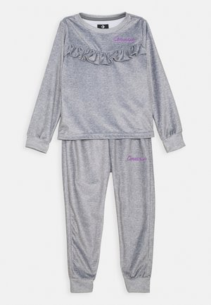 SET - Pantaloni sportivi - dark grey heather
