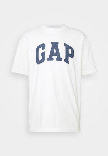 ARCH LOGO TEE - T-shirt z nadrukiem - new off white