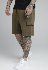 SIKSILK - Shorts - khaki - 0
