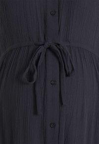 MAMALICIOUS - MLFAUNA DRESS - Košilové šaty - dark navy - 5
