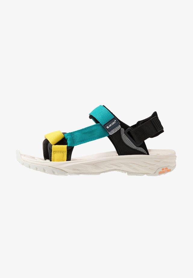 ULA RAFT - Chodecké sandály - blazing yellow/navigate