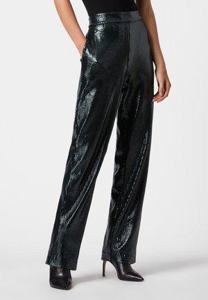 LEANNA TROUSERS - Pantalones - blue