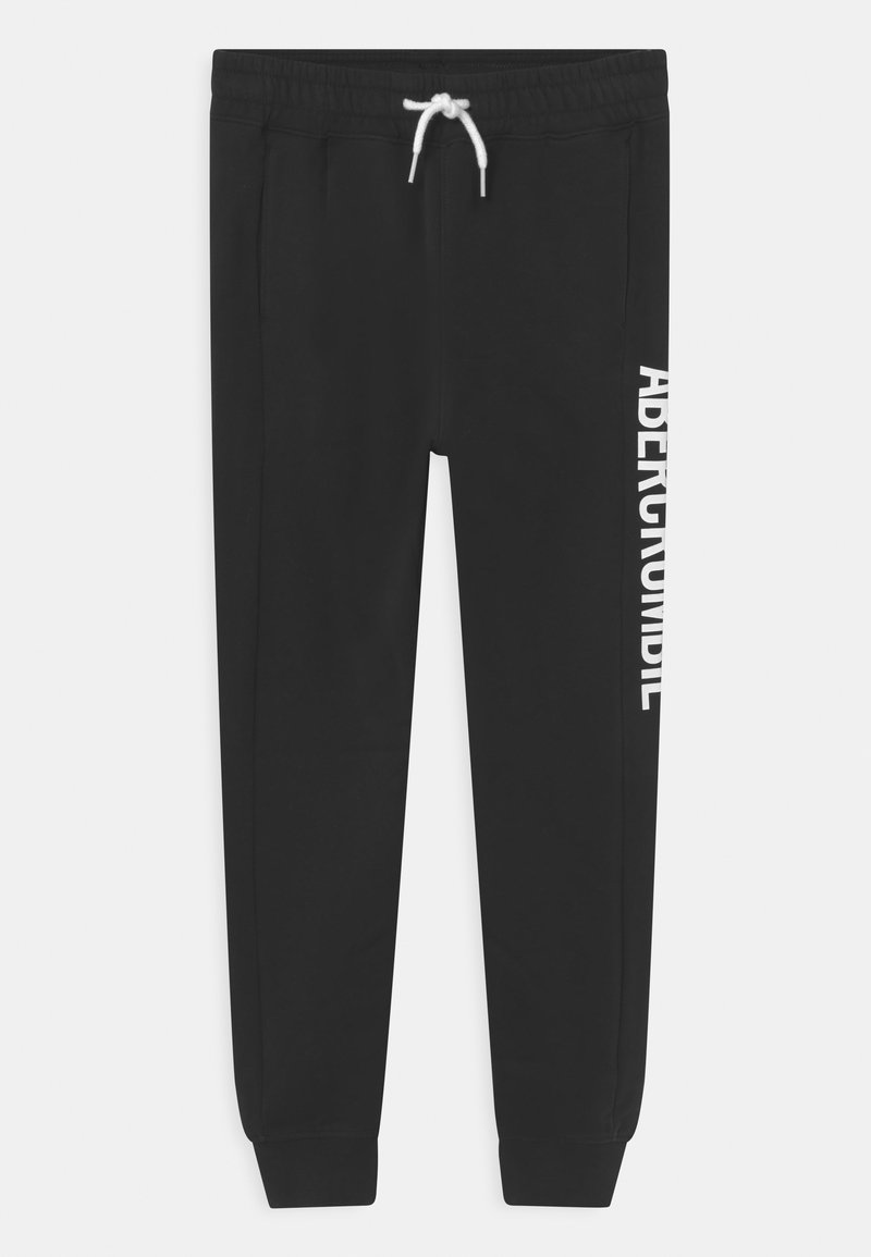 Abercrombie & Fitch - ESPORTS SIDE PANEL LOGO - Tracksuit bottoms - black