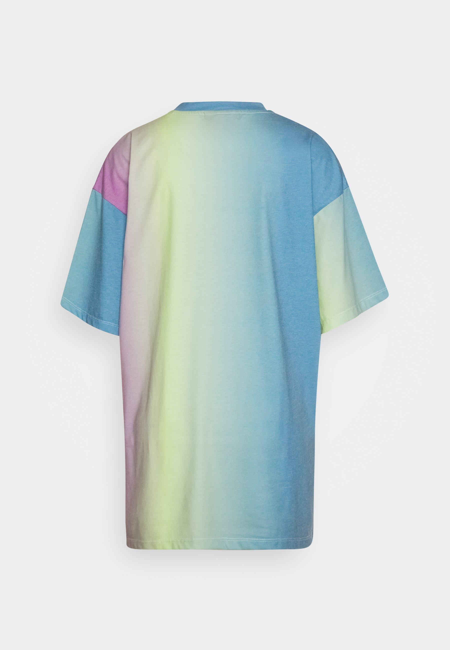 Han Kjobenhavn Boyfriend Tee - T-shirts Med Print Gradient/flerfarget