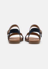 New Look Wide Fit - WIDE FIT GREAT - Sandales - navy - 3